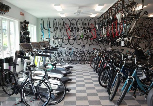 Bikes and Fitness Equipment