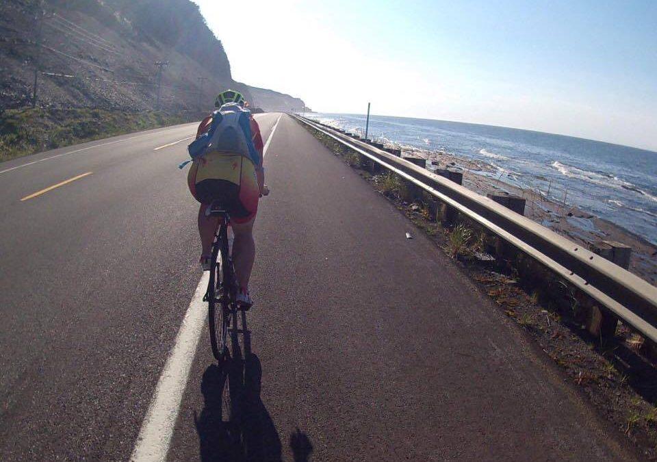 Casey Rocks the Tour de Gaspesie!