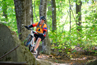 Casey Beaudoin conquers Eastern States Cup Enduro Lite at Burke