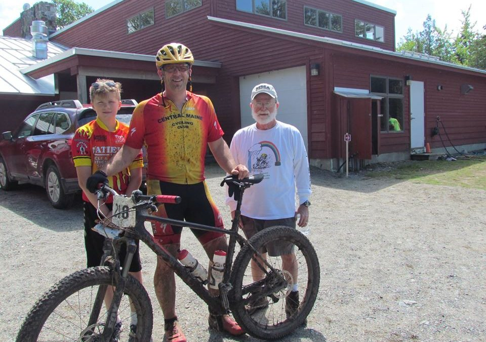 Jamie Dexter Pushes his limits at Carrabassett Back Country Challenge 50K
